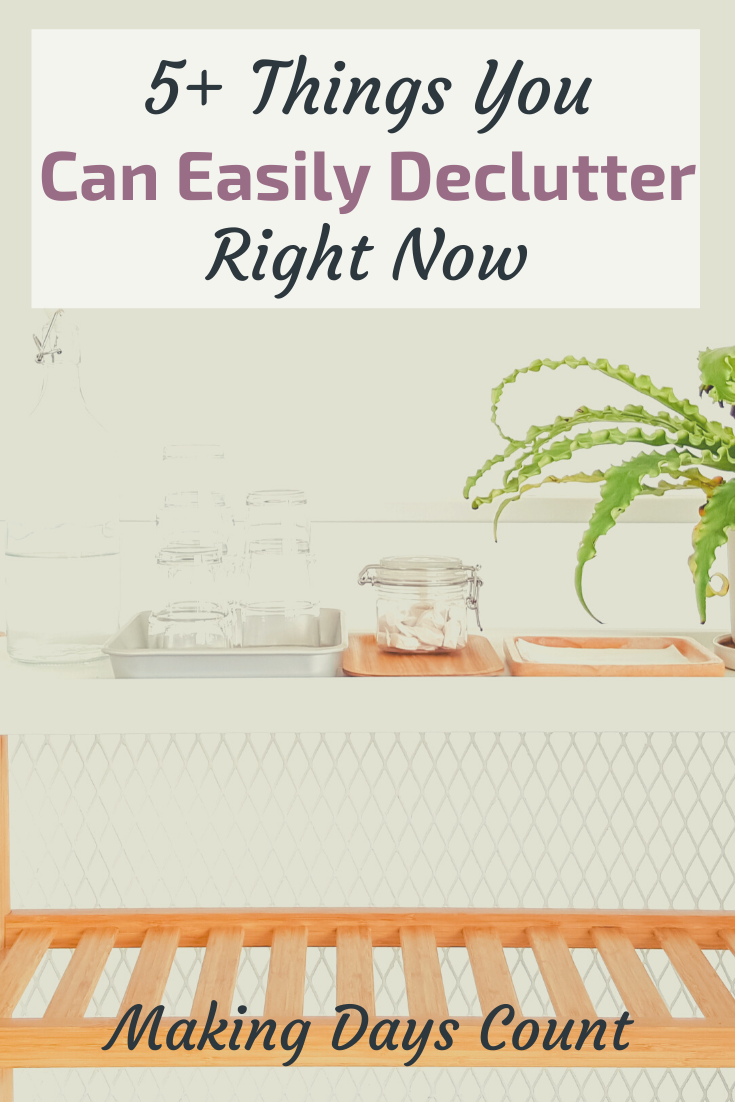 Easy ways to declutter your home