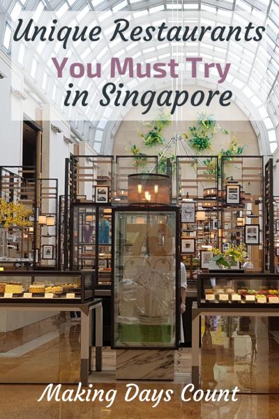 Pin this: Unique Restaurants in Singapore
