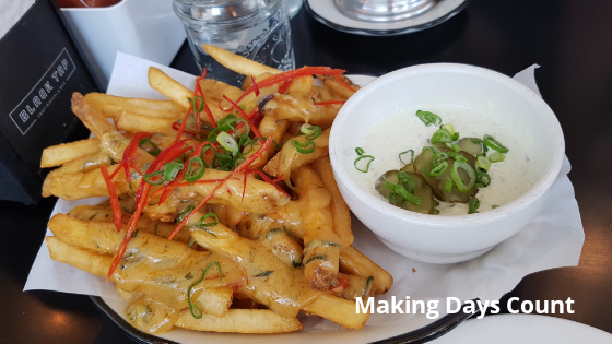 Black Tap Salted Egg Fries