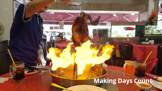 Penang Seafood Restaurant volcano chicken