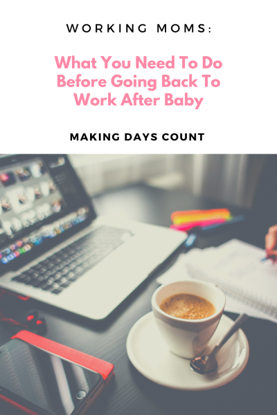 Tips For Back To Work After Baby