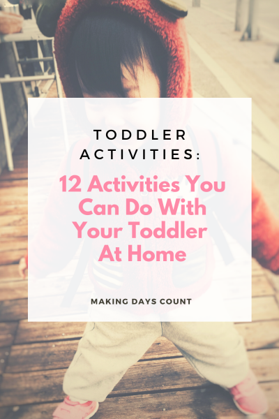 Quarantine Activities for Toddlers