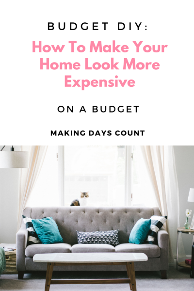 Budget DIY Projects to Make Your Home Look More Expensive