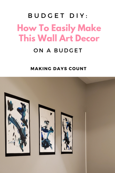 Guest Bedroom Wall Decor on a Budget