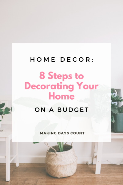 Tips on How To Decorate Your Home on a Tight Budget