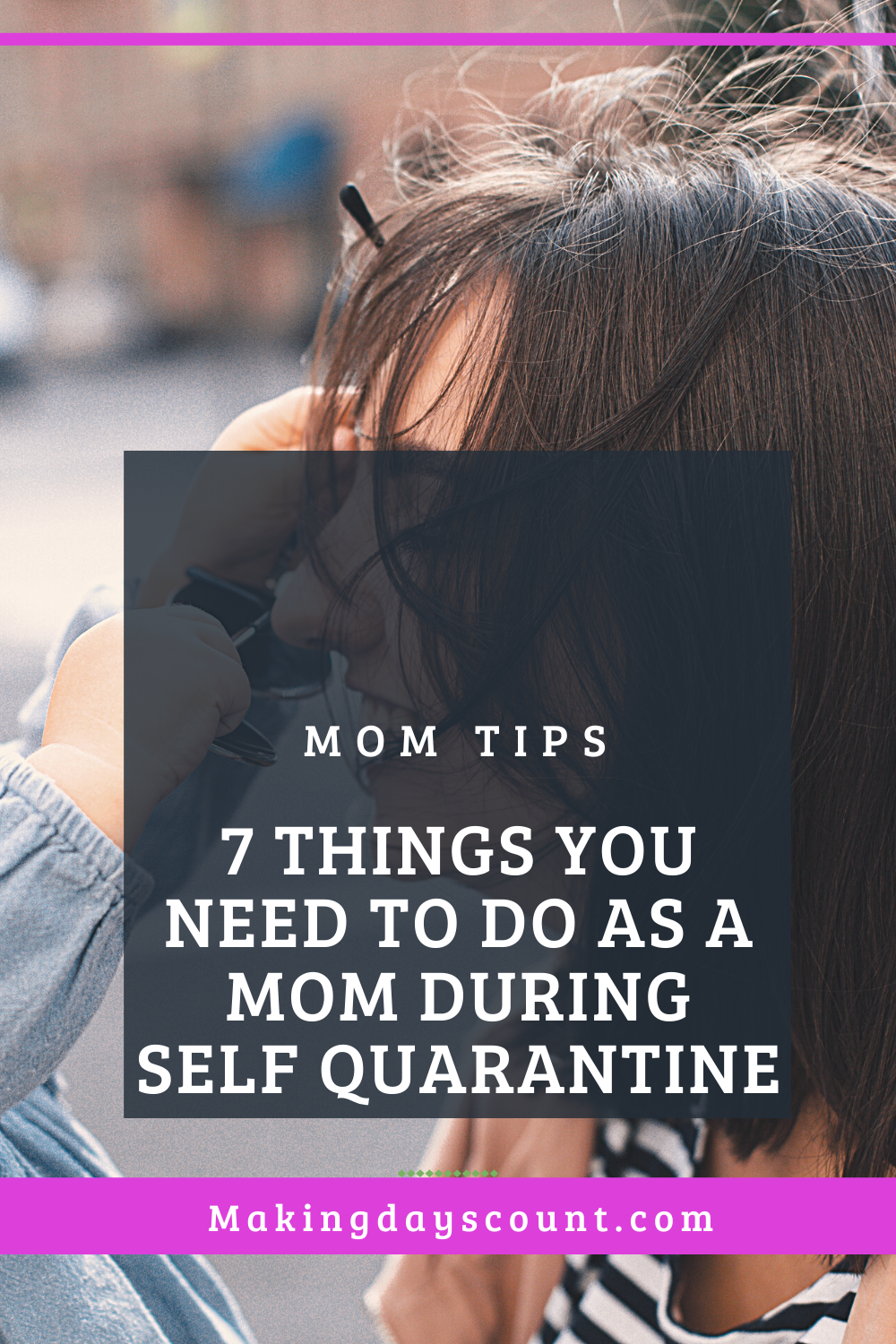 7 things to do as a mom