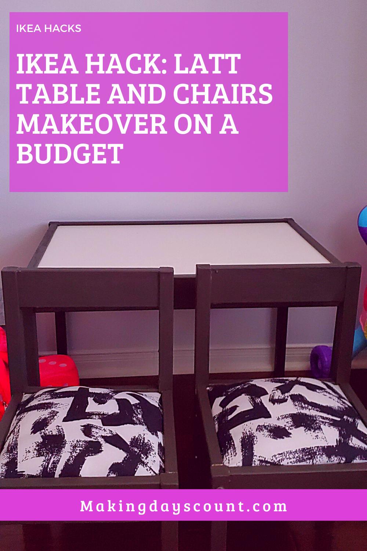 Ikea Hack Latt Table