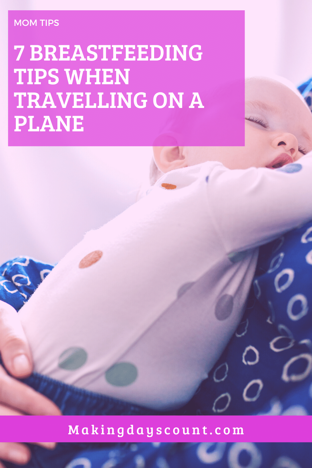 Breastfeeding on the plane
