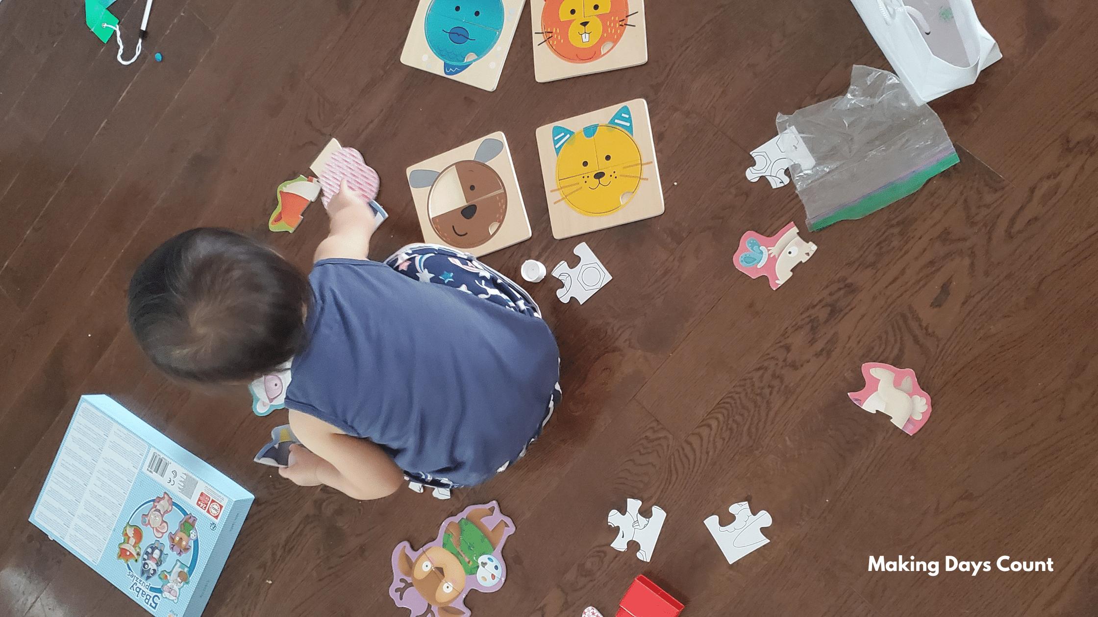 Indoor Toddler Activities: Puzzles