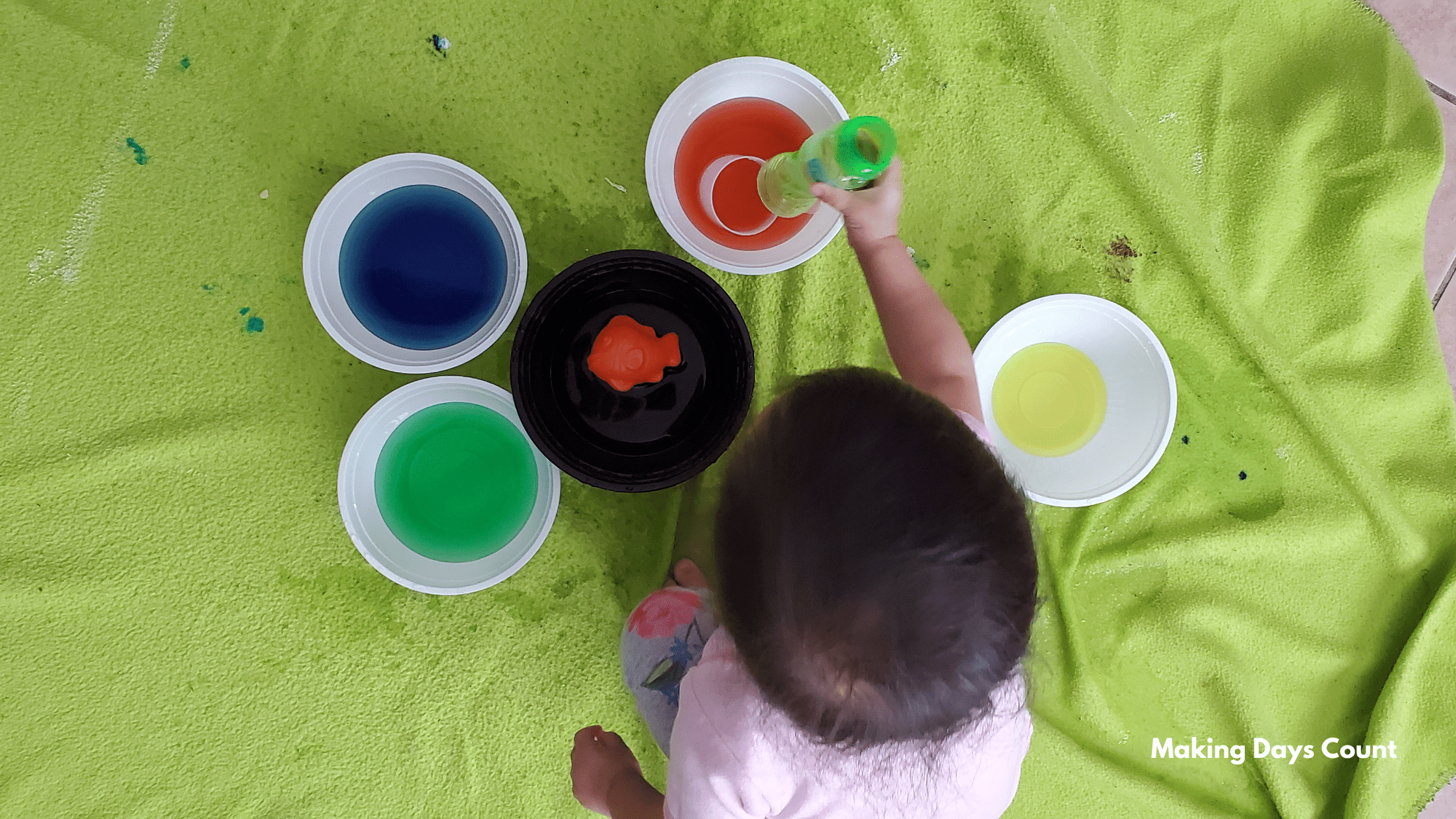 Indoor Toddler Activities: Water Play