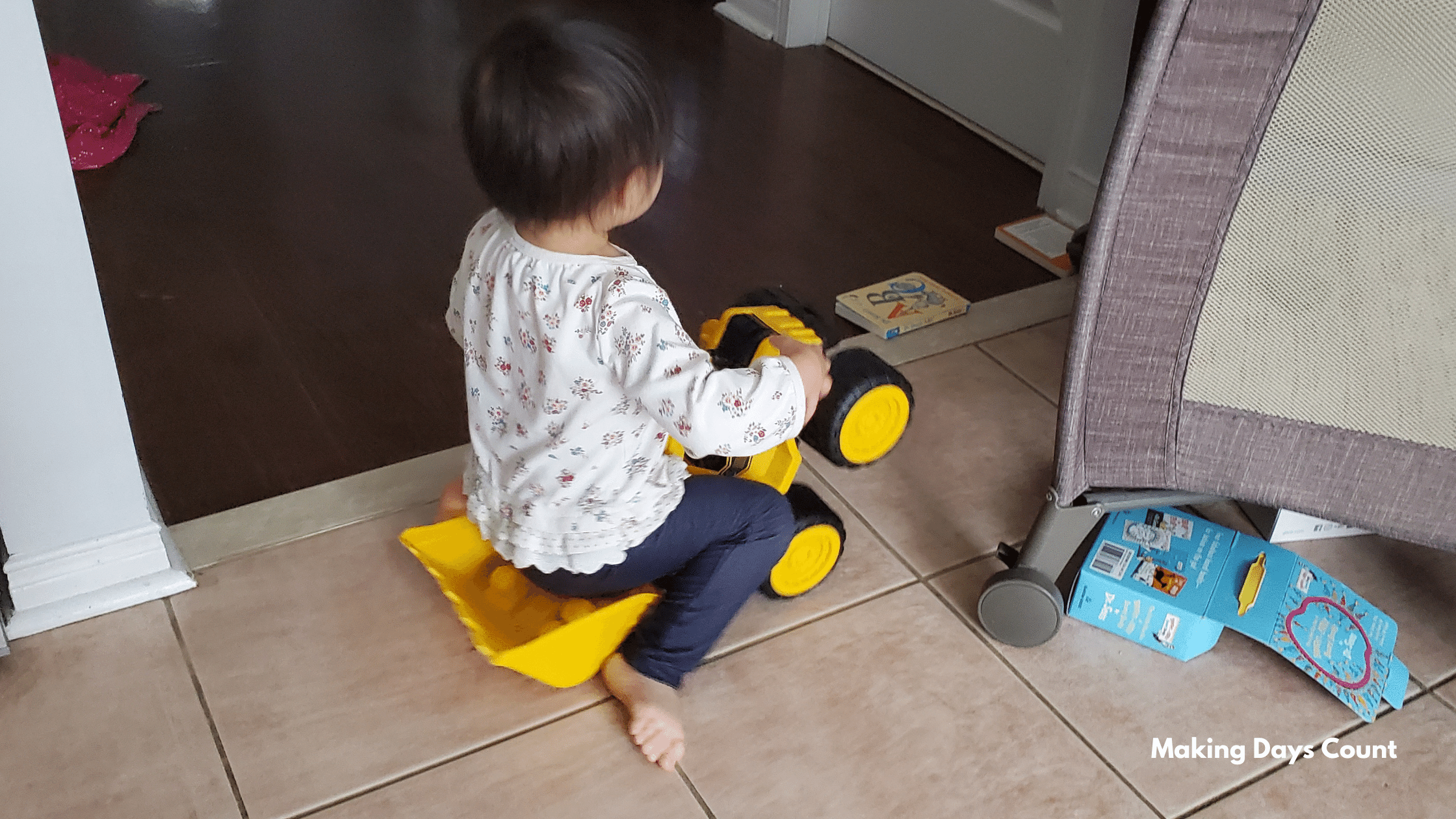 Indoor Toddler Activities: Trucks and Cars
