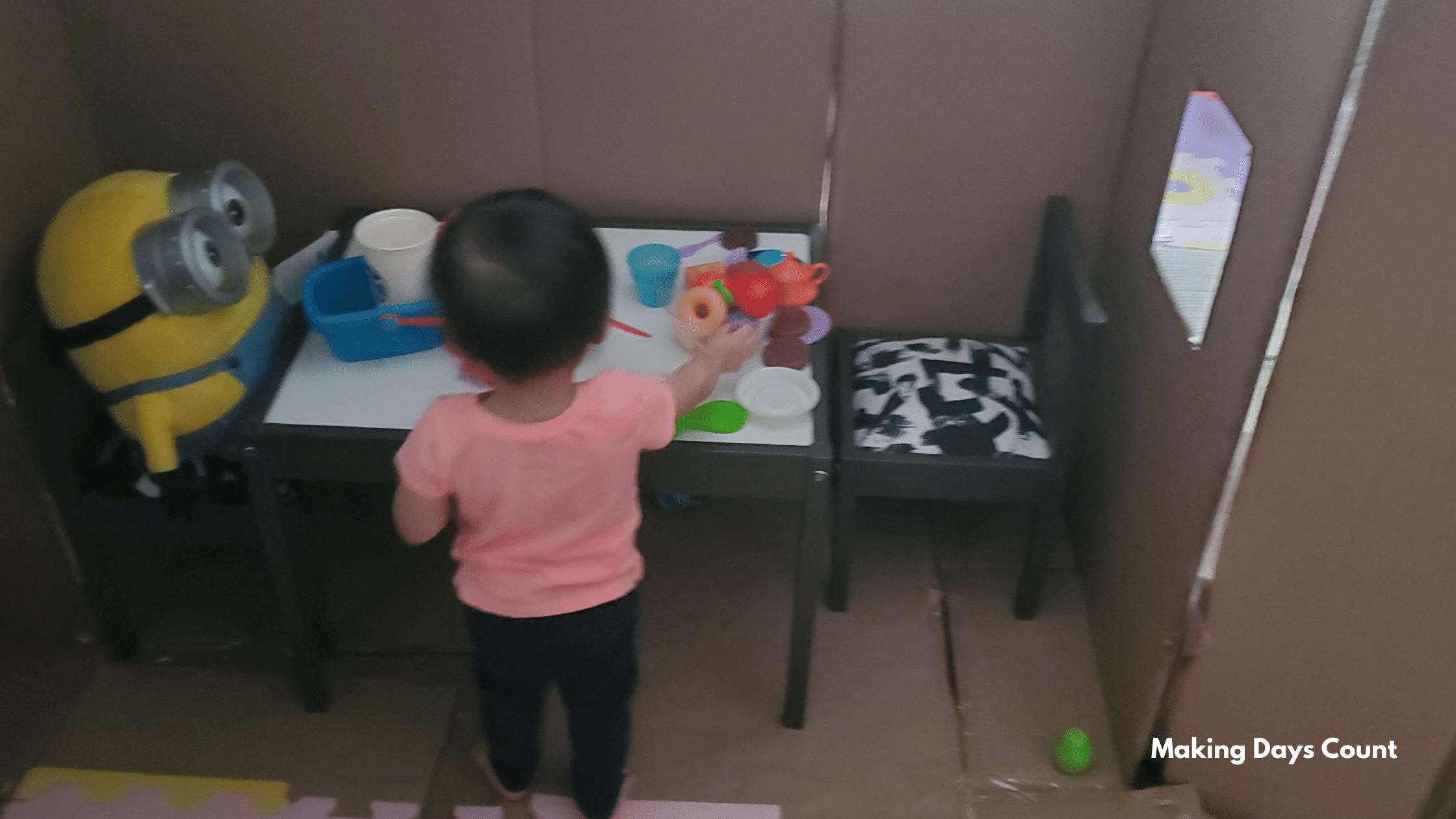 Indoor Toddler Activities: Indoor Tent or Home