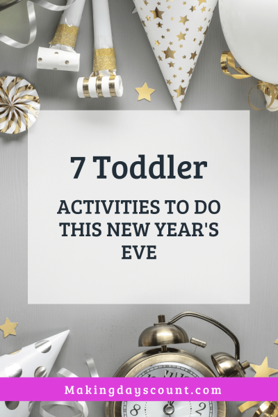 New Years Eve Activities for Toddlers