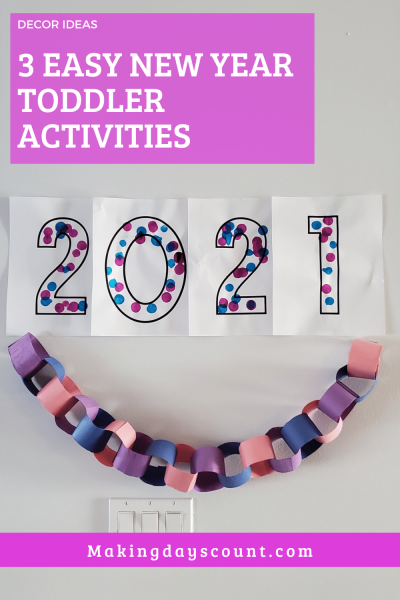 New Year Toddler Activities