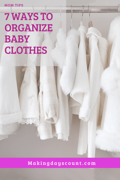 How to organize baby clothes: 7 Tips