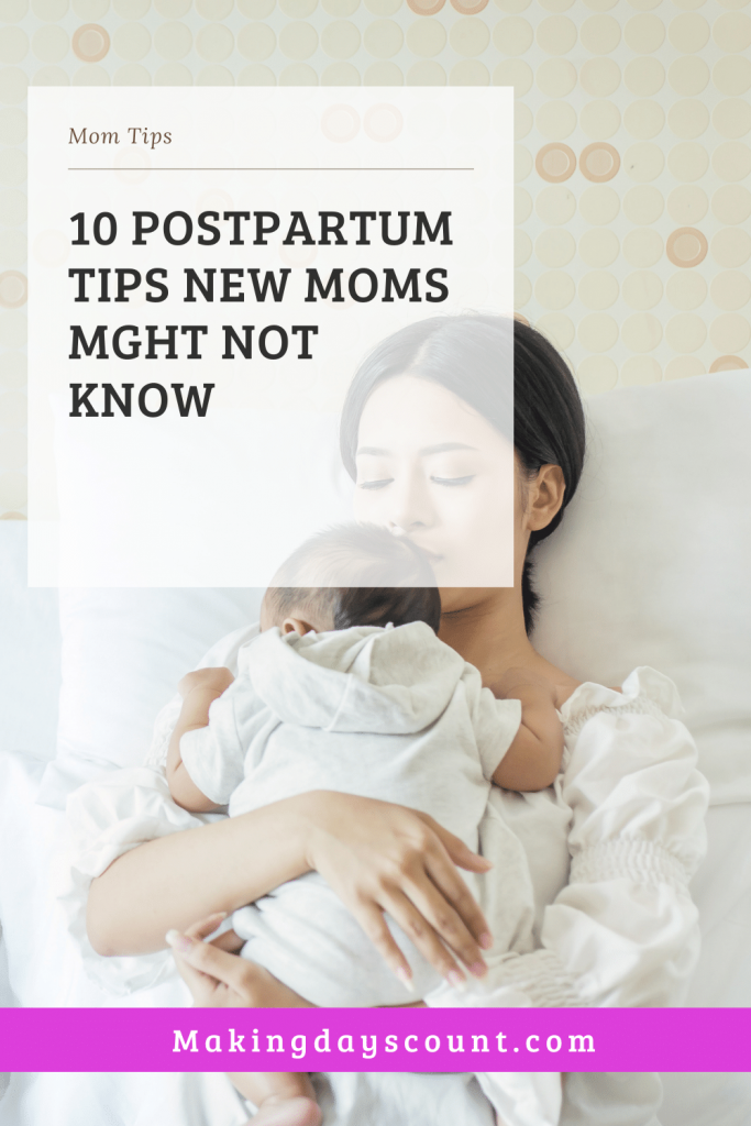 Postpartum Tips: MDC