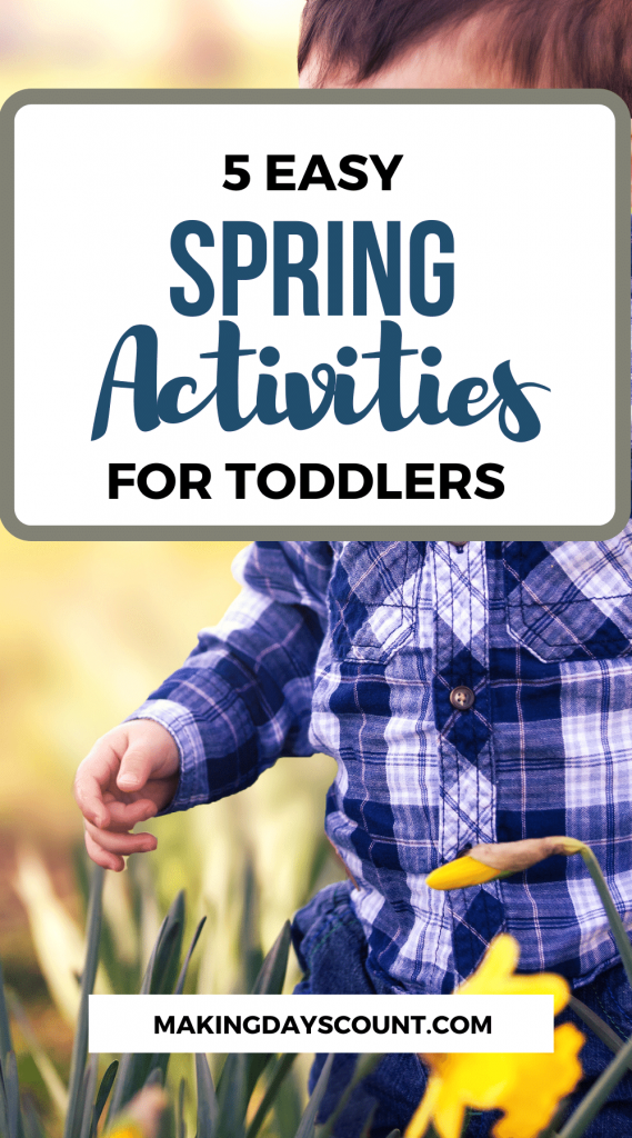 Spring Toddler Activities