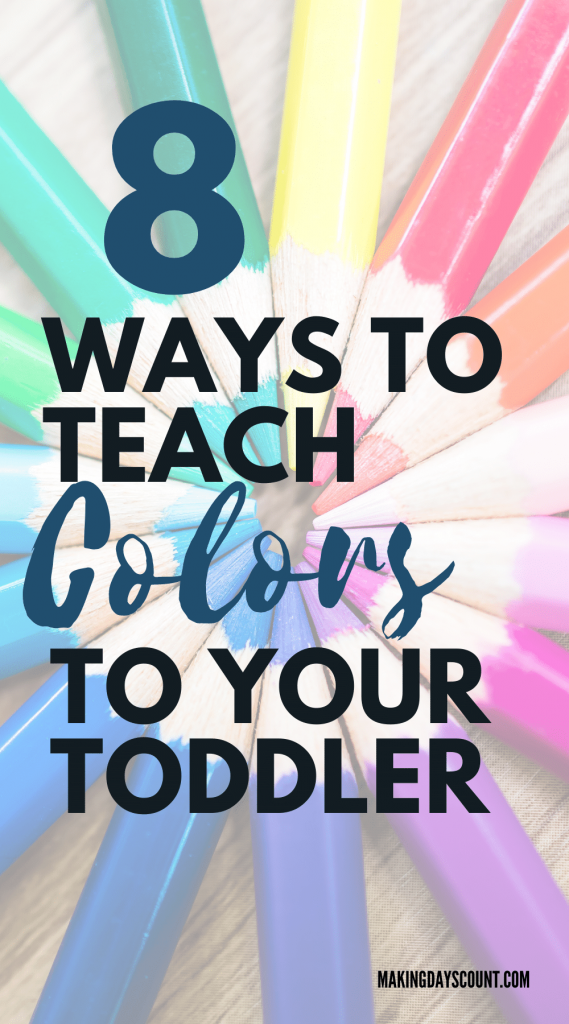 Teach Colors to Toddlers
