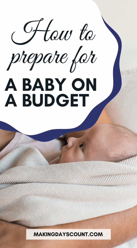 Baby on a Budget Pin